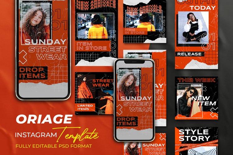 ORIAGE - Instagram Stories & Post Template