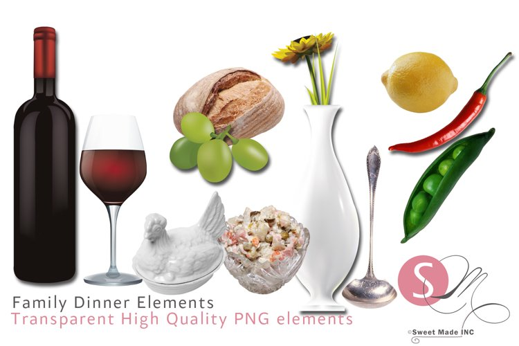 Family Dinner / Elements example image 1