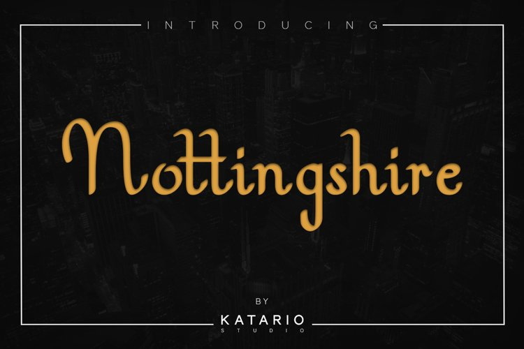 Nottingshire example image 1
