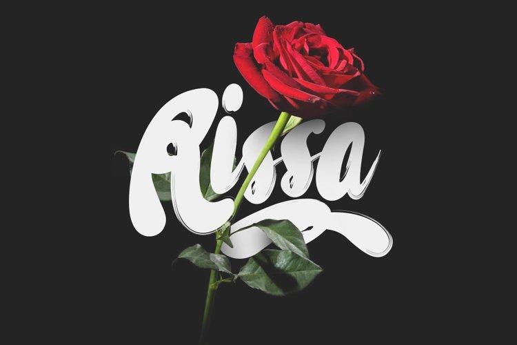 Rissa Typeface + Swashes example image 1
