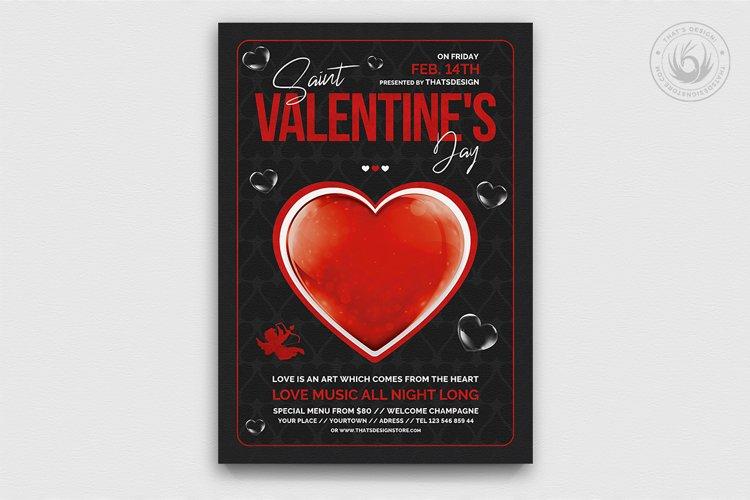 Valentines Day Flyer Template V24