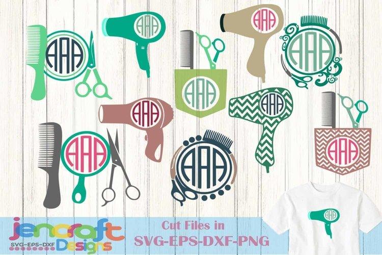 Download Hairdresser Svg Hair Stylist Monogram Design Svg Eps Dxf 114559 Svgs Design Bundles