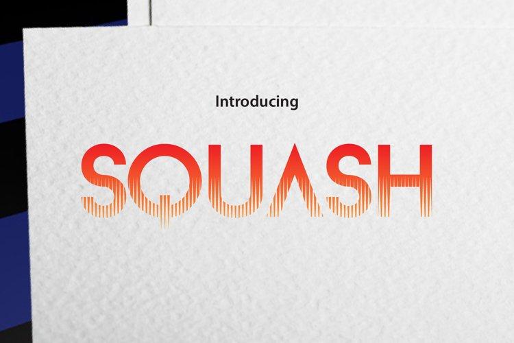 SQUASH EFFECT example image 1