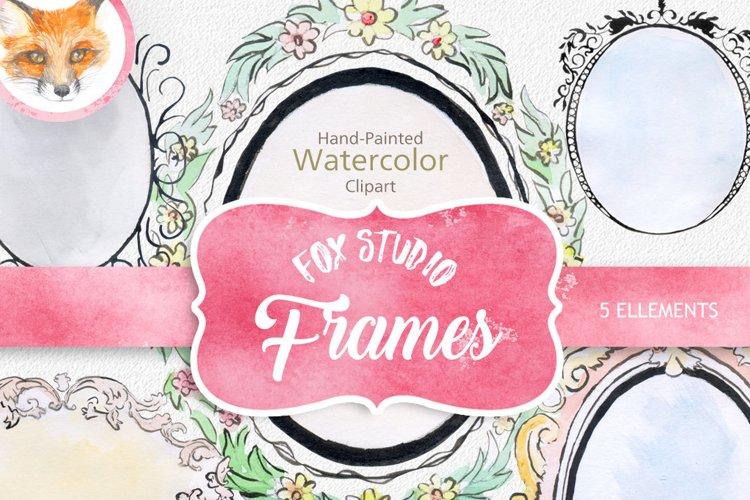 digital watercolor frames clipart watercolor png frames example image 1