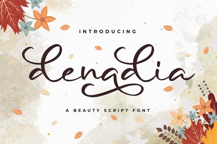 Denadia a Beauty Script Font example image 1