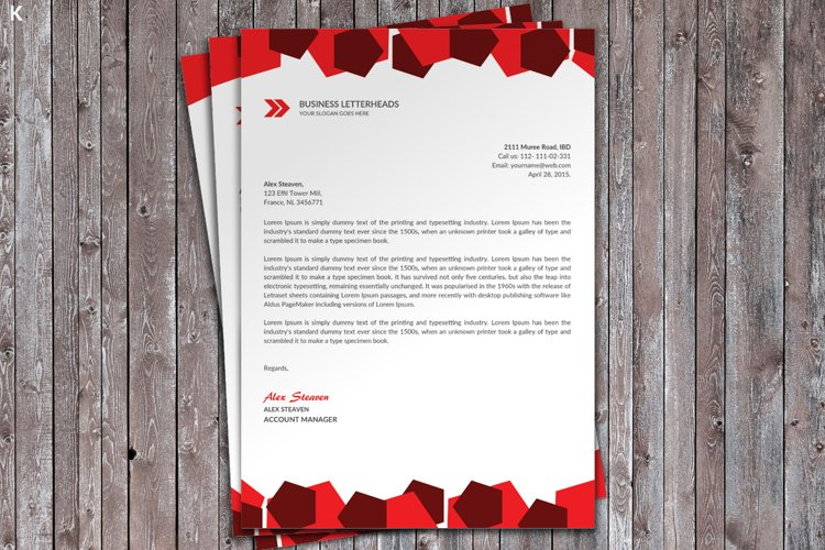 Business Letter Head example image 1