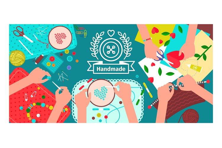 Creative handmade workshop banner example image 1