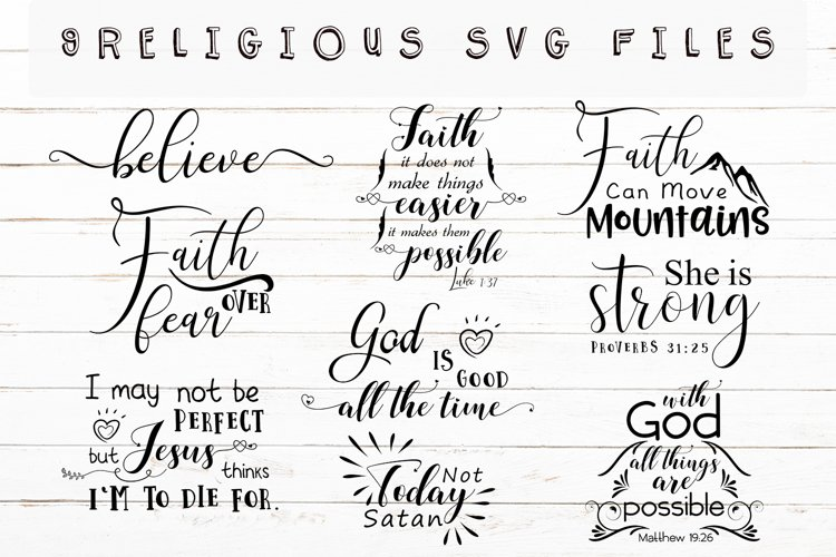 Christian Svg Bundl,Religious Svg example image 1