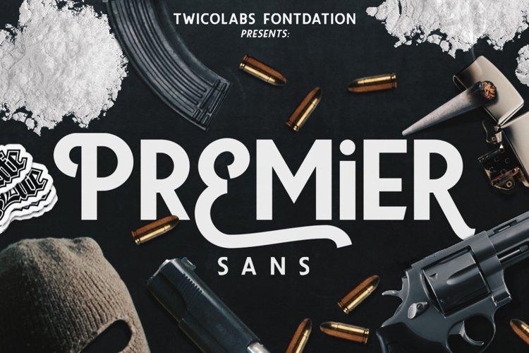 Premier Sans example image 1