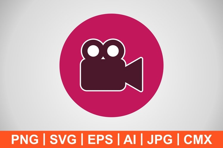Vector Video Icon example image 1