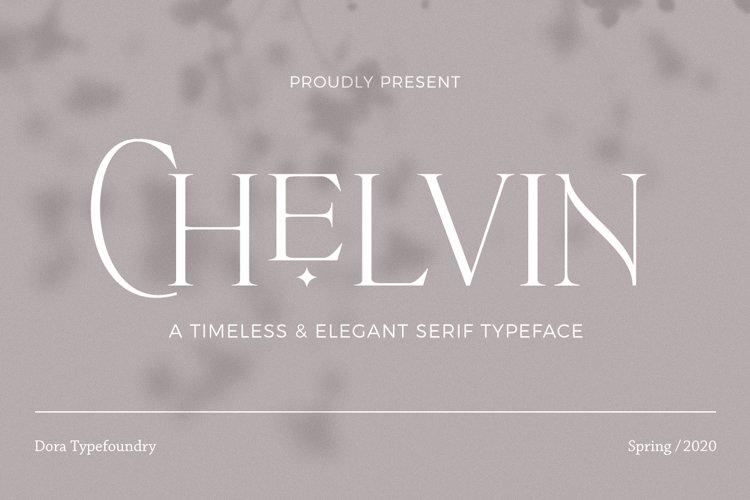 Chelvin Serif example image 1