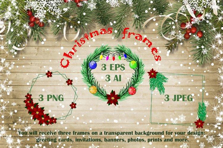 Christmas frames example image 1