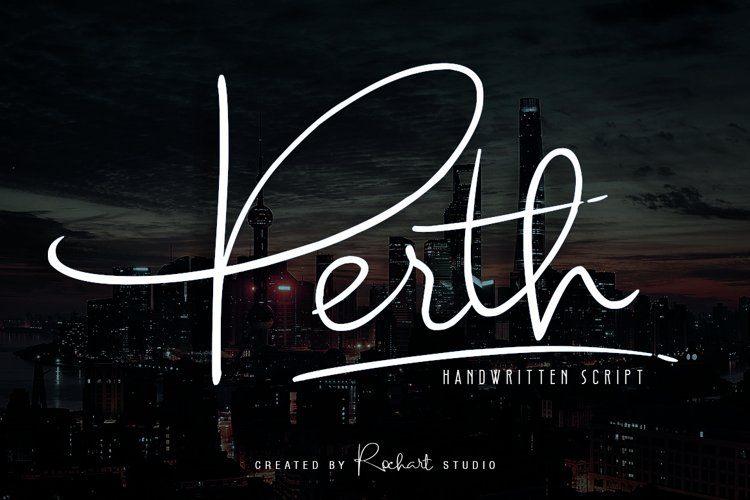 Perth Script example image 1