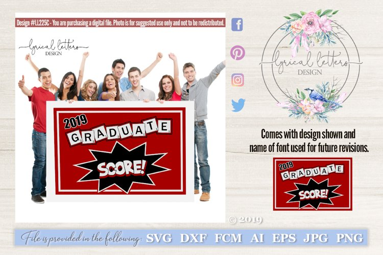 Game Themed Graduation Class of 2019 SVG DXF FCM LL225C