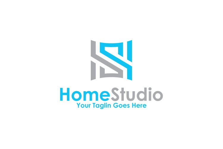 Letter S Home Studio Logo 558805 Logos Design Bundles