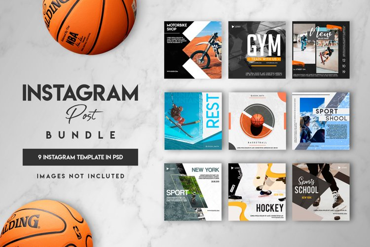 9 instagram post template example image 1