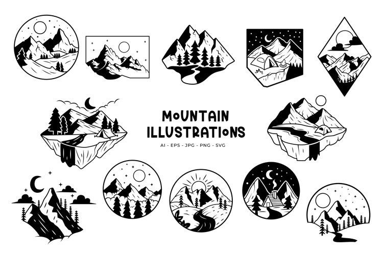 Mountain Illustrations