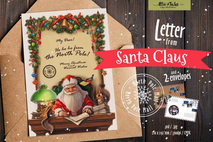 Letter from Santa Claus example image 1