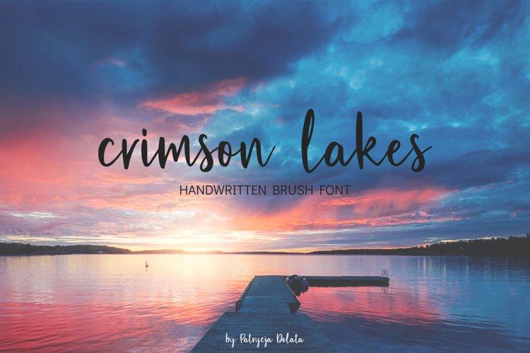 Crimson Lakes example image 1