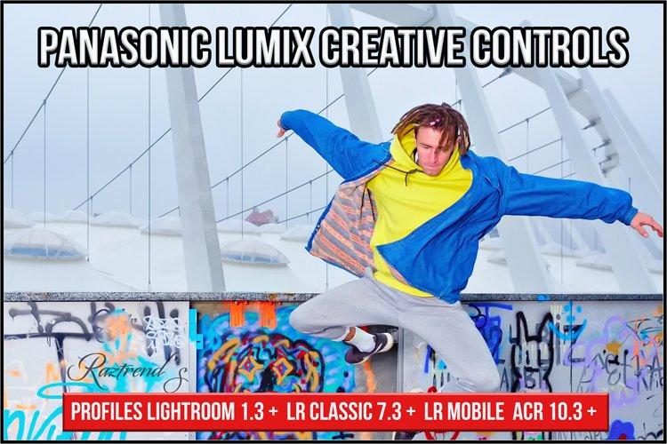 Panasonic Lumix Creative Controls profiles Lightroom ACR
