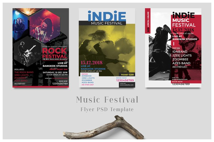 Music Festival Flyer Template example image 1