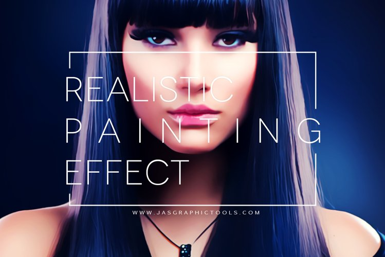Realistic Painting Effect V.1 | Photoshop Actions