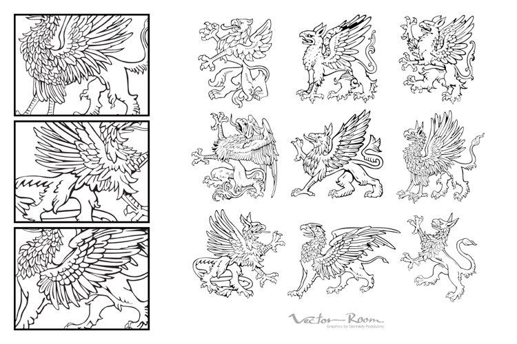 Heraldic Monsters Vol. V example image 1