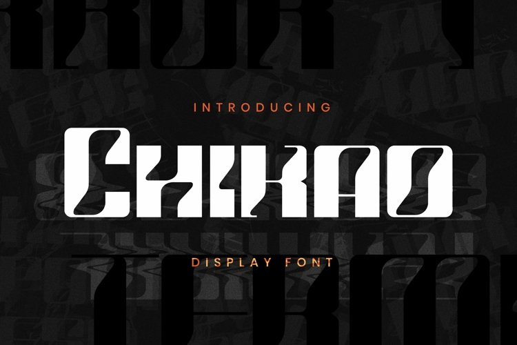 Web Font Chikao Font example image 1