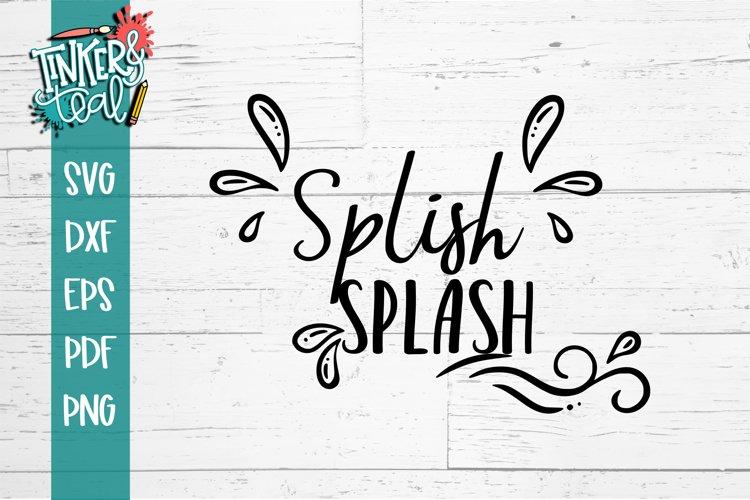 Splish Splash SVG example image 1