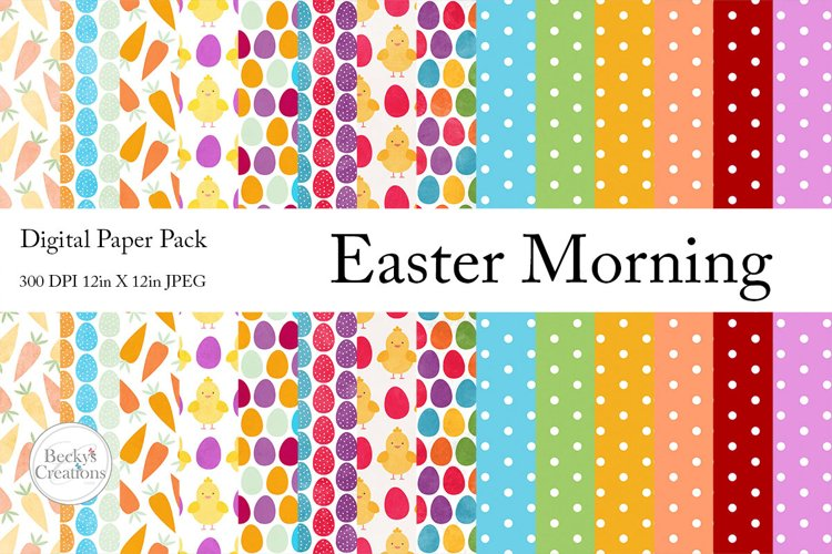 Easter Morning Paper Pack example image 1