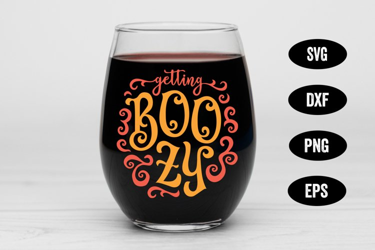 Halloween SVG, Boozy SVG, Ghost SVG, Halloween Drinking SVG