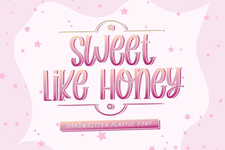 Sweet Like Honey example image 1