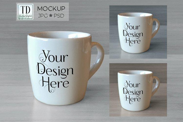 Coffee Mug Mockup, JPG   PSD Smart Object Coffee Cup Mockups