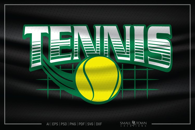 Tennis, Tennis ball, Team logo, Tennis SVG, Tennis Ball SVG example image 1