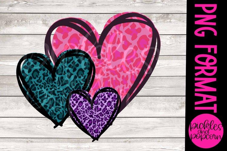 Leopard Heart Trio example image 1
