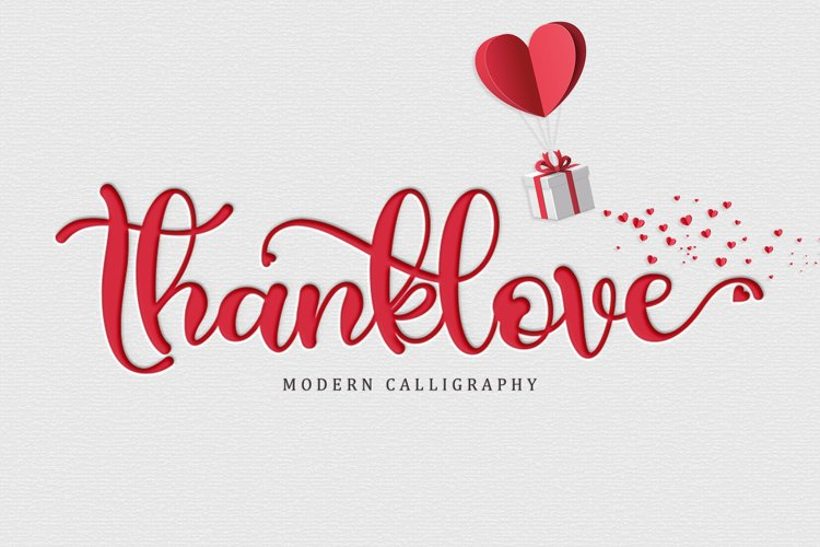 Thanklove example image 1