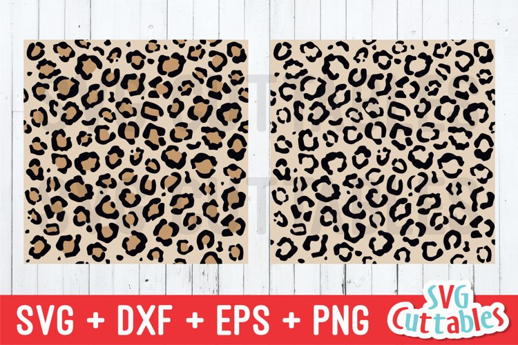 Leopard Pattern SVG | Leopard Print Seamless Patterns