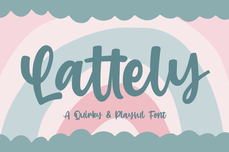 Lattely - a Quirky & Playfull example image 1
