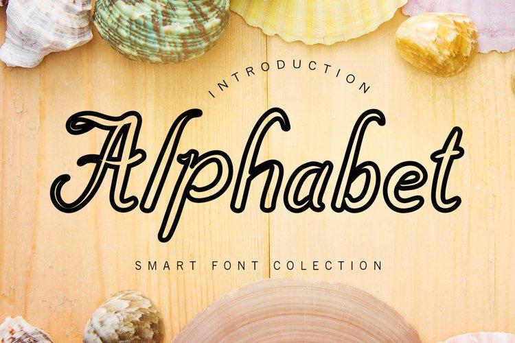 Alphabet example image 1