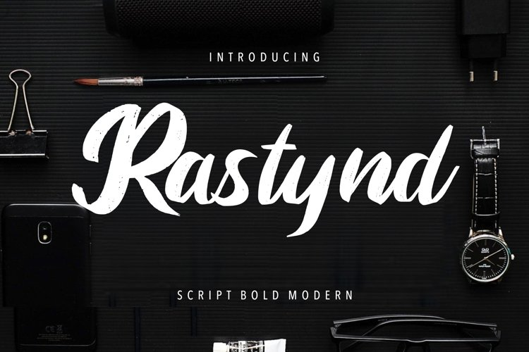 Rastynd Script Bold Modern example image 1