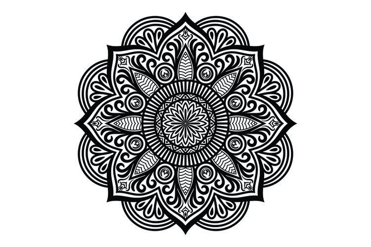 Mandala Craft and SVG Cut File