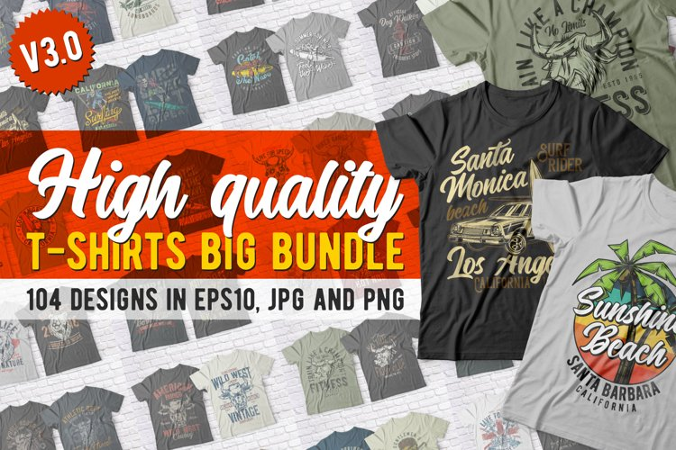 High Quality T-shirts BUNDLE example image 1
