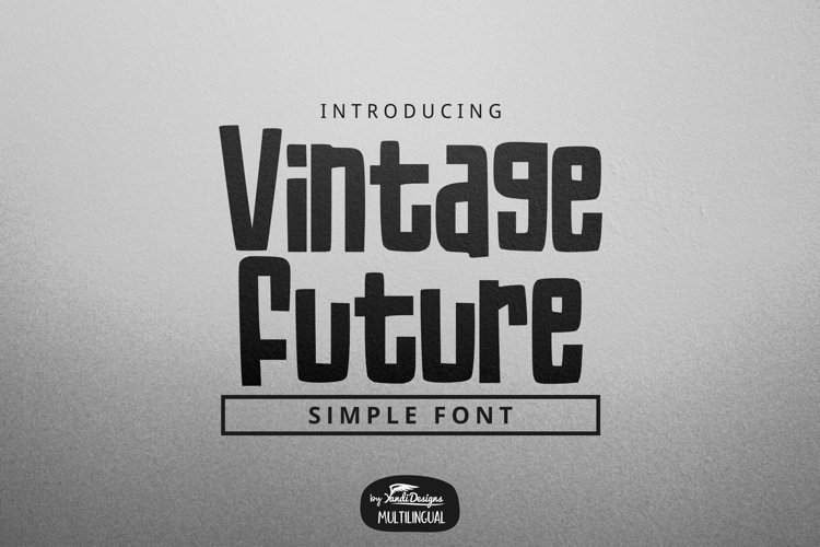 Vintage Future Font example image 1