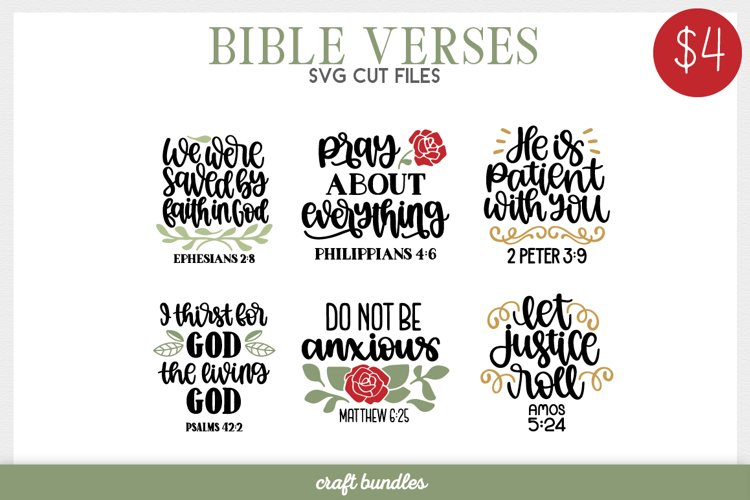 Bible Verses SVG Cut Files