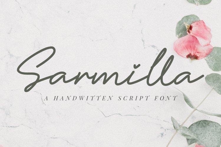 Sarmilla Font