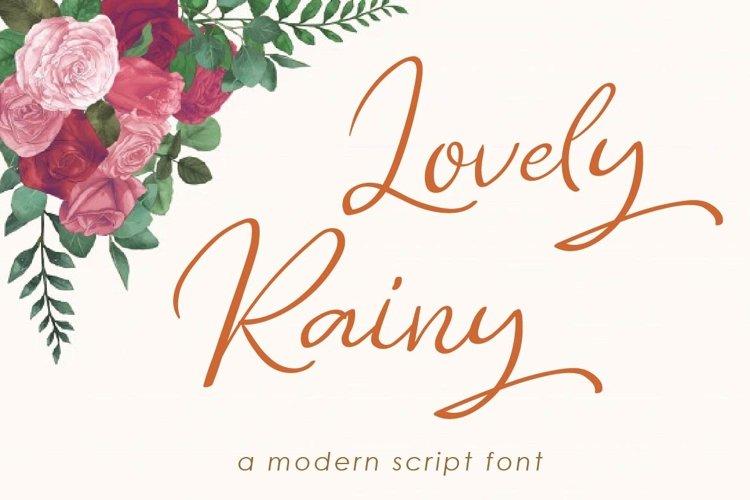 Lovely Rainy example image 1