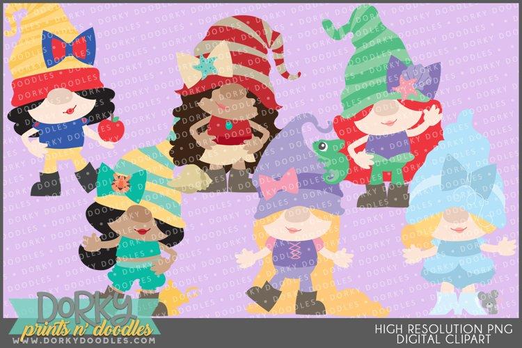 Princess Gnomes Clipart