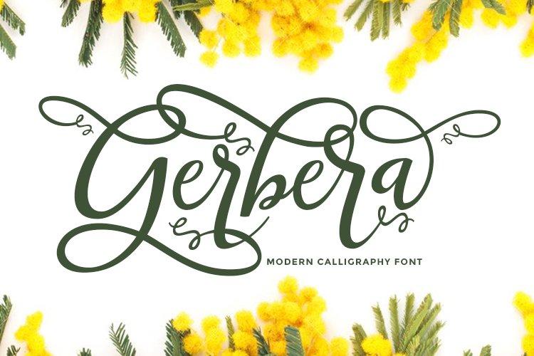 Gerbera example image 1