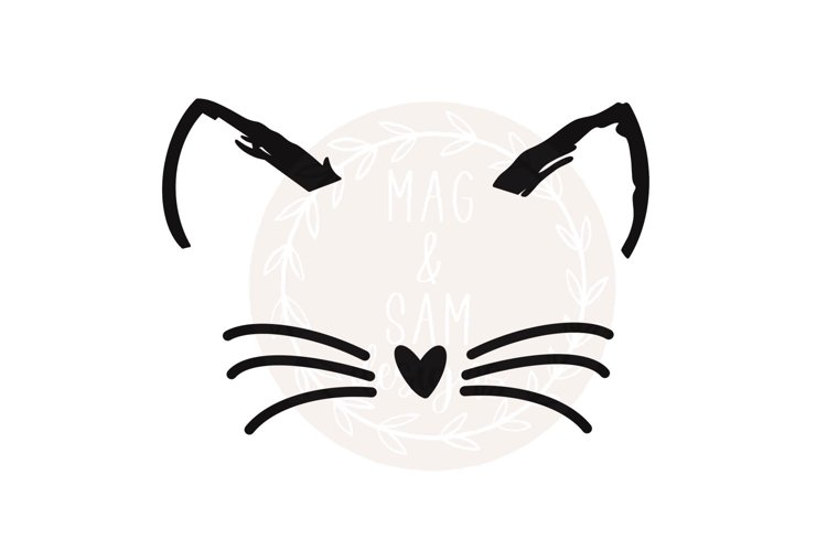 Cat svg, cat face svg, cat lover svg