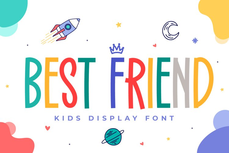 Best Friend - Kids Display Font example image 1